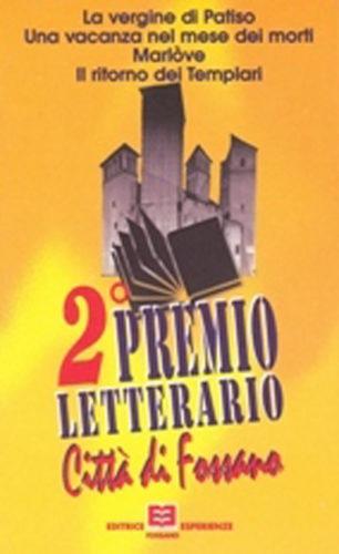 2° Premio letterario Città di Fossano